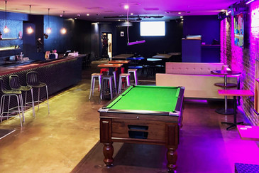 Function Room with Pool Table