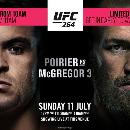 Poirier Vs McGregor LIVE & LOUD