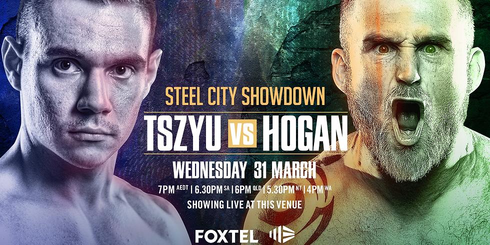 Boxing: Tszyu Vs Hogan