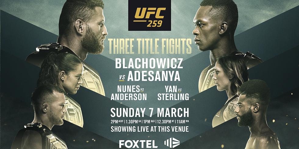UFC 259: Błachowicz vs. Adesanya