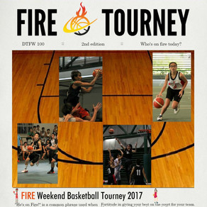 F.I.R.E. Weekend Basketball Tourney 2017