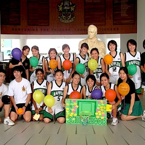 Raffles  Basketball Romances - Stanley & Joelynn from  Batch of 2009
