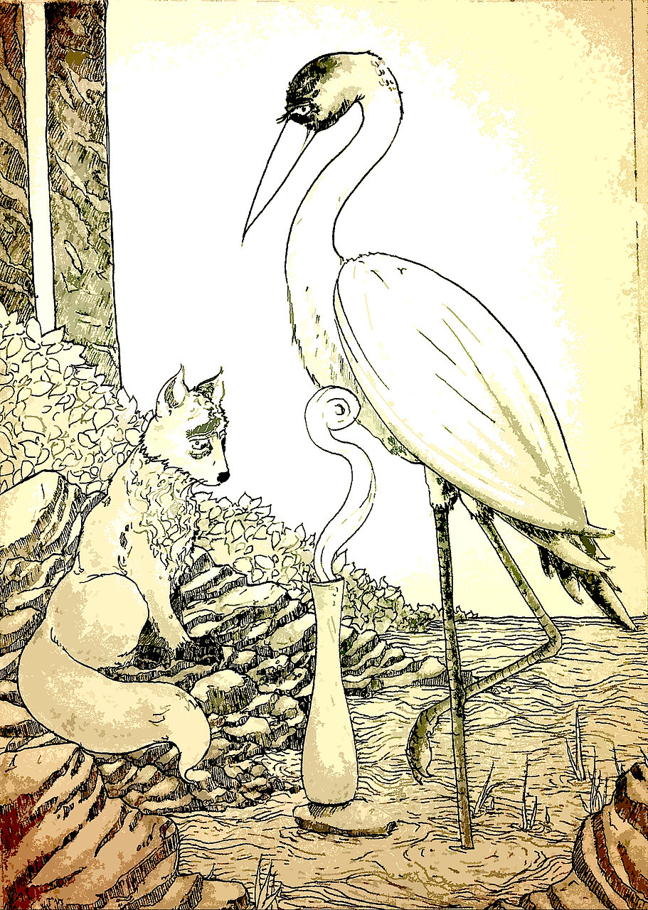 The Fox & The Crane
