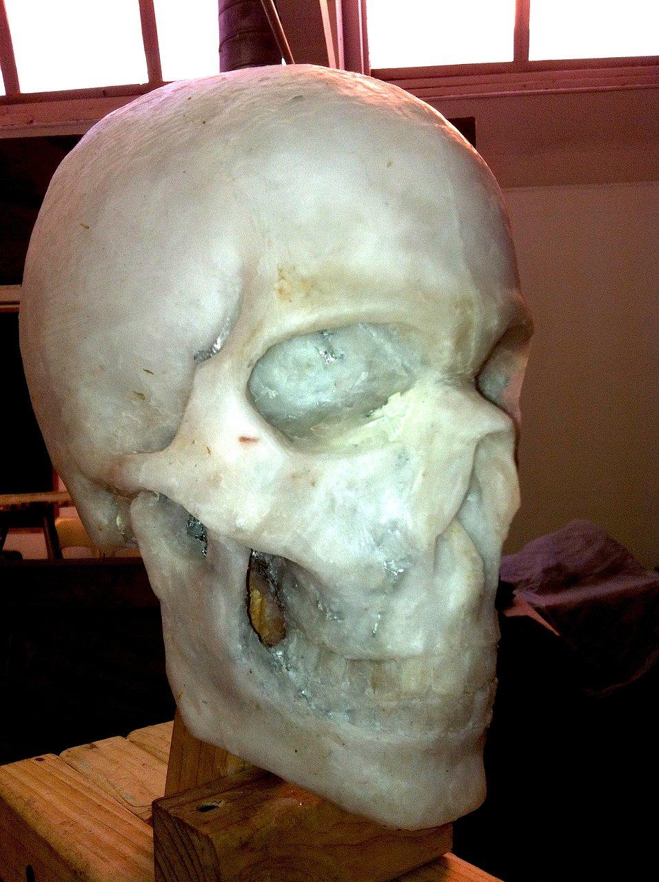 Wax Skull sketch
