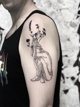 Floral Lady