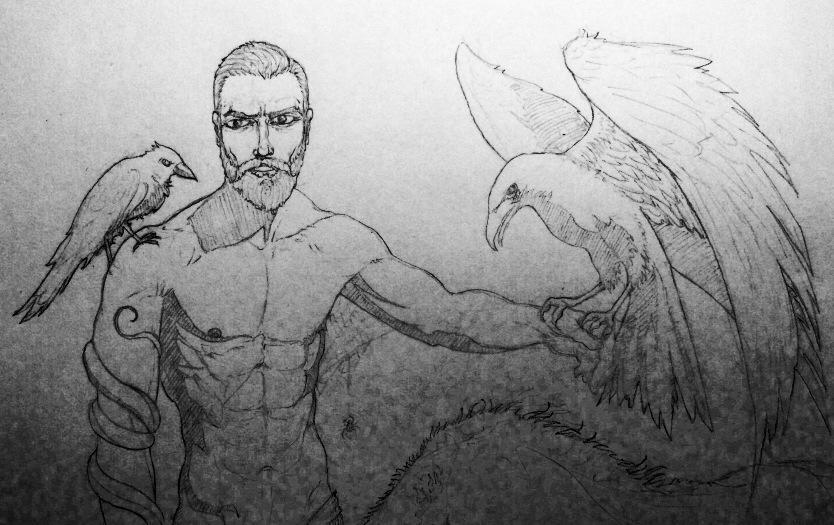 Animal Man sketch