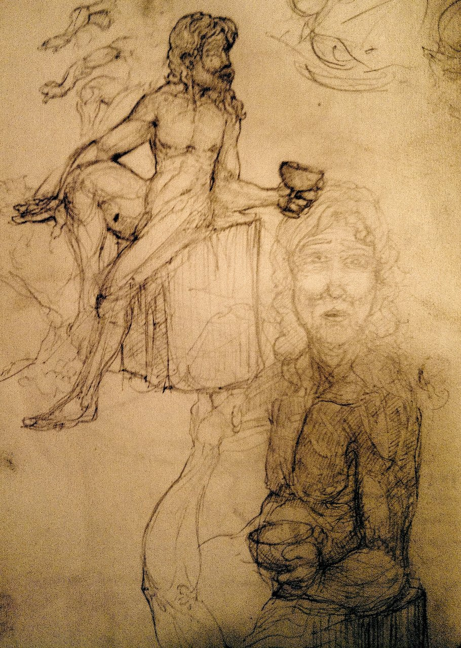 Bacchus sketches