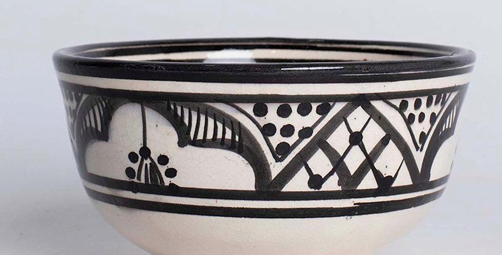 Black & White Ceramic Bowl