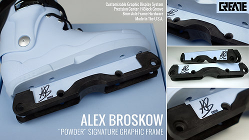 "ALEX BROSKOW ""POWDER"" Graphic Pro Frame (LIMITED EDITION)"
