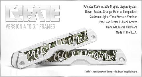 """""""White"""" V.4 OG Frames"""