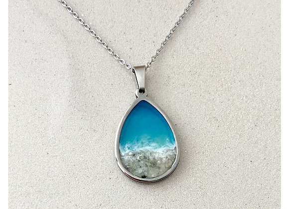 "Collar Silver ocean ""Altea"""