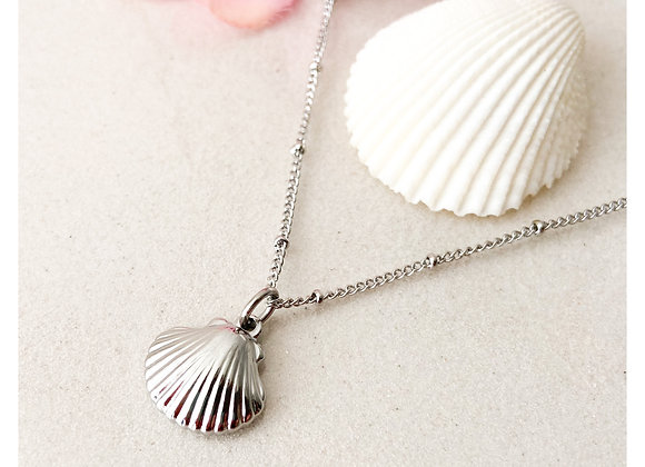 Collar Seashell 2 plateado
