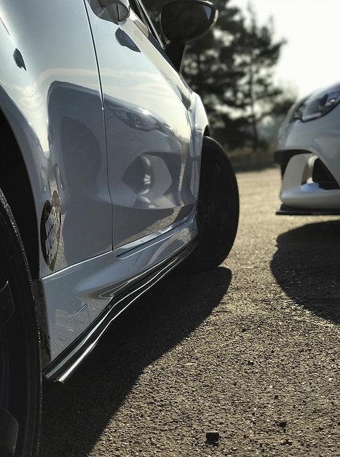 Fiesta MK7 ZS Side Skirt Splitters