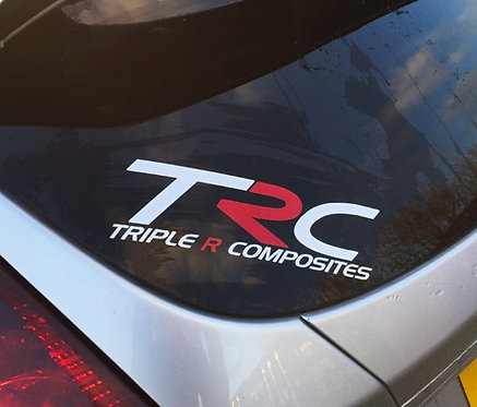 TRC Window Sticker