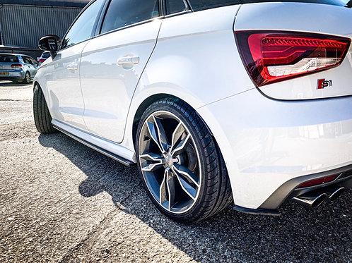 Audi S1 Side Skirt Splitters