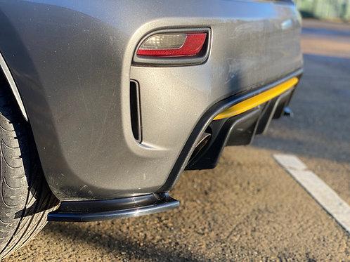 Abarth 500/595 series 4 rear spats