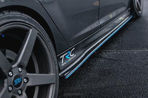 Focus MK3.5 ST250 / ST-Line Side Skirt Splitters