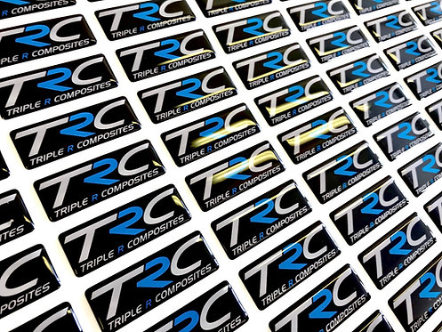 TRC Gel Badge Nitrous Blue