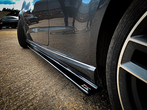Audi S3 8V (PFL) Hatchback Side Skirt Splitters