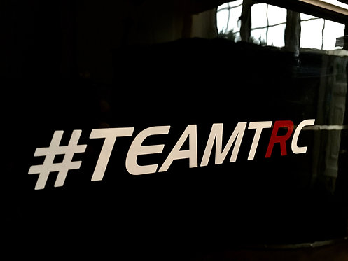 #TEAMTRC Window Sticker