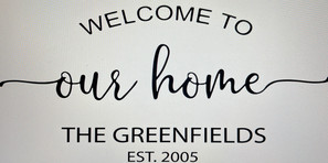Welcome to our Home Name and Est.