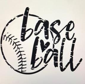 baseball with heart