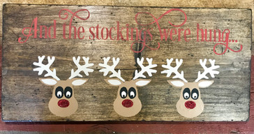 Reindeer: And the stocking were hung