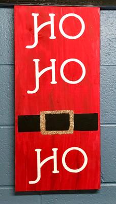 Santa's Belt HO HO HO