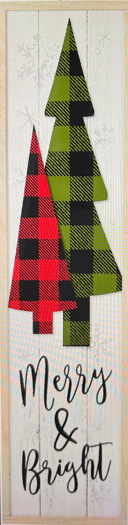Merry and Bright with Buffalo Plaid