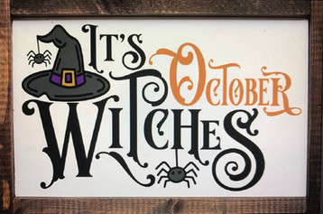 It's October Witches