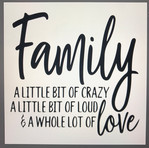 Family a little bit crazy