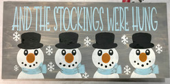 Snowman- And the stocking were hung