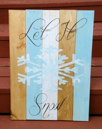 Let It Snow- 1 Flake