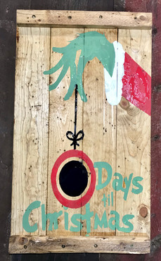 Grinch Countdown to Christmas