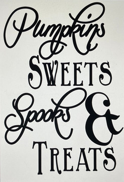 Pumpkin Sweets Spooks &Treats