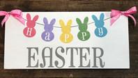 Happy Easter Bunny Garland