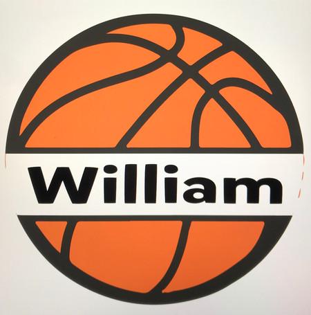 Basketball with name