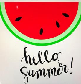 Watermelon Hello Summer
