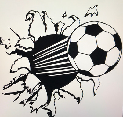 Soccer Ball through wall