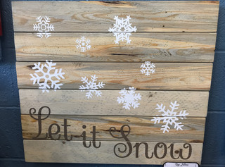 Let it Snow- Many Flakes