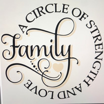 Family- Circle of strength and love