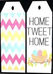 Home Tweet Home Door Tags