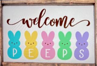 Welcome Peeps