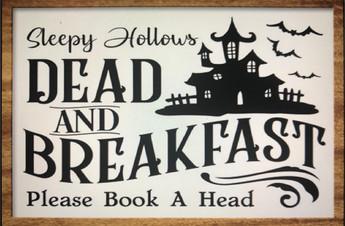 Sleepy Hollows Dead and Breakfast