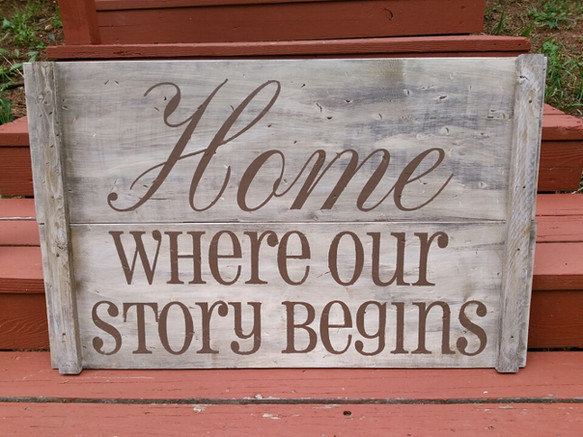 HOme Where Our Story Begins