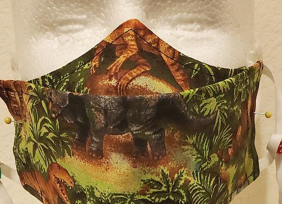 """Dinosaur's """"No Fog"""" Face Mask"""
