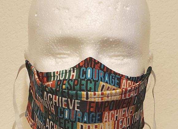 Black History Achieve Face Mask