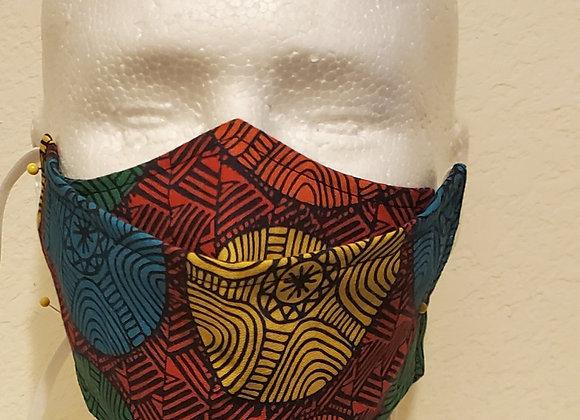 """Bright Circles """"No Fog"""" face mask"""