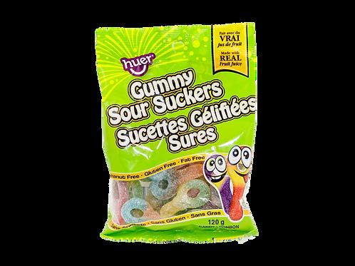 Gummy Sour Suckers
