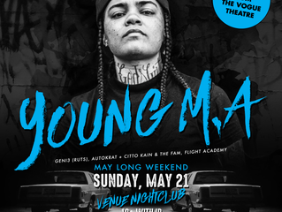 Young M.A Long weekend